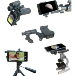 Galileo Smartphone Camera Adapter for Telescope and Binocular Video and Photos