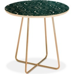 Deny Designs Holli Zollinger Mandala Tile Marine Round Side Table