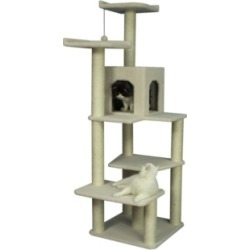 Armarkat Classic Cat Tree, 6 Levels with Condo and 2 Perches
