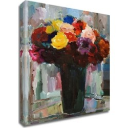 Tangletown Fine Art Abundant Bouquet by Hooshang Khorasani Print on Canvas, 32