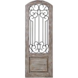 Uttermost Mulino Distressed Panel Wall Art found on Bargain Bro India from Macy's for $547.00