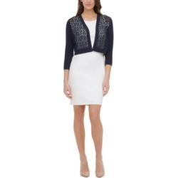 Tommy Hilfiger Lace-Front Cardigan found on MODAPINS from Macy's for USD $40.99