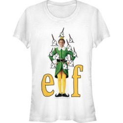 Fifth Sun Elf Buddy Narwhals Portrait Women's Short Sleeve T-Shirt found on MODAPINS from Macy's for USD $24.99