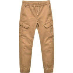 Ring of Fire Big Boys Cayden Slanted Cargo Stretch Jogger Pants