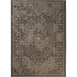 Safavieh Palazzo Black and Creme 8' x 11' Area Rug found on Bargain Bro India from Macy's for $316.80
