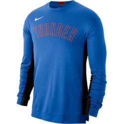 Nike Men's Oklahoma City Thunder Dry Top Long Sleeve Shooter Shirt