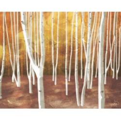 "Creative Gallery Autumn Forest Landscape 36"" x 24"" Canvas Wall Art Print"