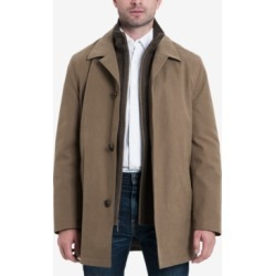 London Fog Men's Bern Long Car Coat with Bib found on MODAPINS from Macy's Australia for USD $150.39