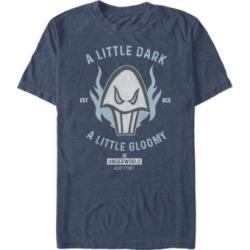Disney Men's Hercules Underworld is Just Fine Logo, Short Sleeve T-Shirt