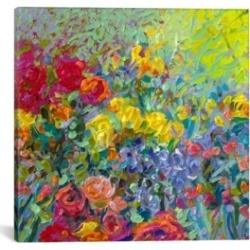 "iCanvas Clay Flowers by Iris Scott Wrapped Canvas Print - 26"" x 26"""