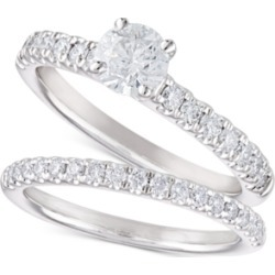 Diamond Bridal Set (1-1/5 ct. t.w.) in 14k White Gold found on Bargain Bro India from Macys CA for $4324.89