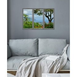 """iCanvas """"Hawaii Window View"""" Gallery-Wrapped Canvas Print (26 x 40 x 0.75)"""