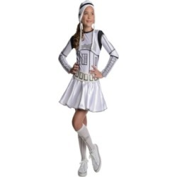 Star Wars Little and Big Girls Storm Trooper Halloween Costume