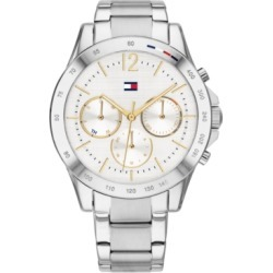 Tommy Hilfiger Women's Chronograph Stainless Steel Bracelet Watch 38mm found on Bargain Bro Philippines from Macy's for $145.00