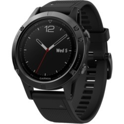 Garmin Men's fenix 5 Multisport Black Silicone Band Smart Watch 47mm found on Bargain Bro India from Macy's for $549.99