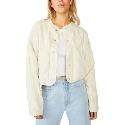 Cotton On Cropped Quilted Bomber Jacket found on MODAPINS from Macy's for USD $49.99