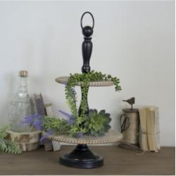 Vip Home & Garden Wood 2-Tier Tray