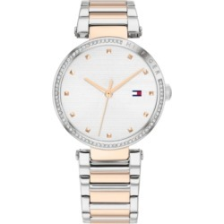 Tommy Hilfiger Women's Two-Tone Stainless Steel Bracelet Watch 32mm found on Bargain Bro Philippines from Macy's for $145.00