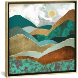 """iCanvas Golden Hills by Spacefrog Designs Gallery-Wrapped Canvas Print - 18"""" x 18"""" x 0.75"""""""