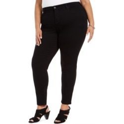 Style & Co Plus Size Curvy Skinny-Fit Jeans, Created For Macy's