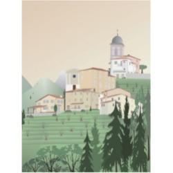 "Gurli Soerensen Travel Europe Pedona Canvas Art - 19.5"" x 26"""