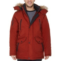 Halifax Men's Big & Tall Hooded Parka with Faux Fur Trim found on MODAPINS from Macy's Australia for USD $102.96