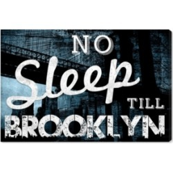 Oliver Gal No Sleep Till Brooklyn Canvas Art, 36
