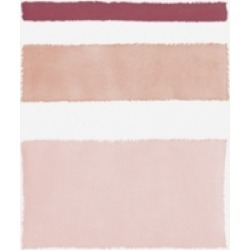 Piper Rhue Painted Weaving Iv Mesa on White Canvas Art - 15