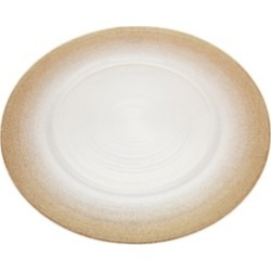 Godinger Circle Charger Plate White Champagne found on Bargain Bro India from Macy's for $11.99