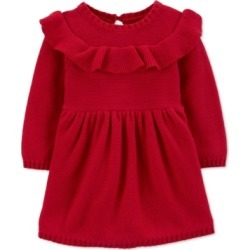 Carter's Baby Girls Ruffled Cotton Dress found on Bargain Bro Philippines from Macys CA for $42.13
