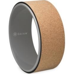 Gaiam Yoga Wheel with Cork Print
