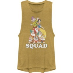 Disney Juniors' Princesses Squad Dwarfs Festival Muscle Tank Top found on MODAPINS from Macy's for USD $30.99