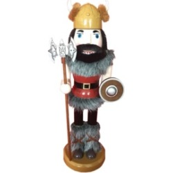 "Santa's Workshop 14.25"" Viking Nutcracker"