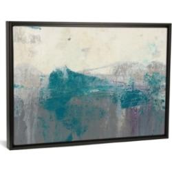 "iCanvas Teal Range Ii by Jennifer Goldberger Gallery-Wrapped Canvas Print - 26"" x 40"" x 0.75"""
