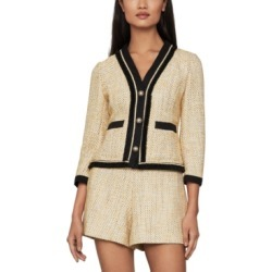 Bcbgmaxazria Contrast-Trim Tweed Blazer found on Bargain Bro Philippines from Macy's Australia for $148.53