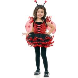 BuySeasons Lady Bug Cutie Big Girls Costume