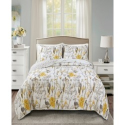 Adalia Reversible 3-Piece Full/Queen Quilt Set found on Bargain Bro India from Macy's for $205.99