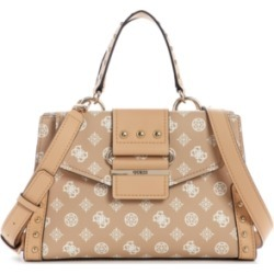 Guess Greta Logo Girlfriend Satchel found on MODAPINS from Macy's for USD $110.00