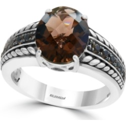Effy Smoky Quartz (3 1/4 ct.t.w.) Ring in Sterling Silver