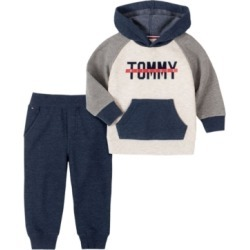 Tommy Hilfiger Toddler Boys Fleece Pullover Hoody with Fleece Pant Set, 2 Piece found on Bargain Bro India from Macy's for $35.70