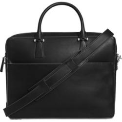Mens Washington Grand Leather Attache Case