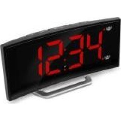 Marathon Usb Alarm Clock Charger with 7 Inch Dimmable Curved Screen found on Bargain Bro India from Macy's for $29.99