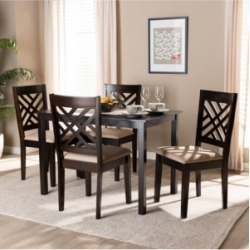 Caron 5pc Dining Set found on Bargain Bro from Macy's for USD $698.44