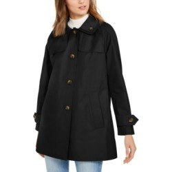 London Fog Hooded Water-Resistant Raincoat found on MODAPINS from Macys CA for USD $79.01