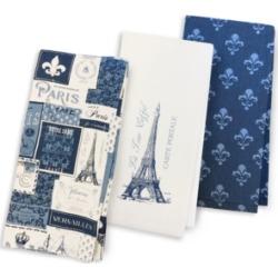 Martha Stewart Collection Paris Kitchen Towels, Set of 3