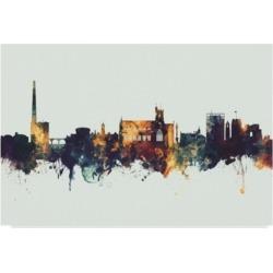 Michael Tompsett Carlisle England Skyline Iv Canvas Art - 20