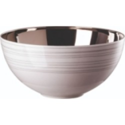 "Rosenthal ""Tac 02"" Stripes Vegetable Bowl Open"