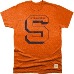 Retro Brand Men's Syracuse Orange Mock Twist Team Logo T-Shirt found on Bargain Bro India from Macy's for $12.96