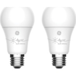 C by Ge Soft White Smart Bulbs (2 Led A19 Light Bulbs),...