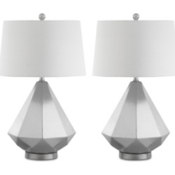 Safavieh Set of 2 Twain Table Lamps found on Bargain Bro from Macy's for USD $250.04
